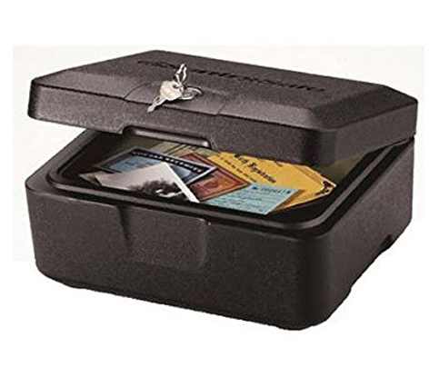 4. SentrySafe Fire Safe, Extra Small, 0500 (0.2 Cubic Feet)