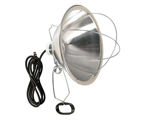 9. Woods 0166 300-Watt SJTW Clamp Lamp