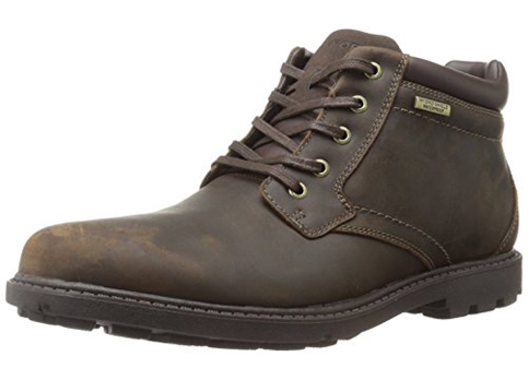9. Rockport Men's Rugged Bucks Waterproof Boot