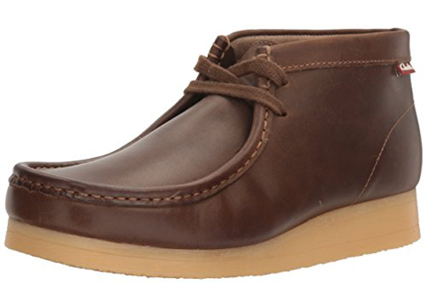 5. Clarks Men's Stinson Hi Wallabee Boot
