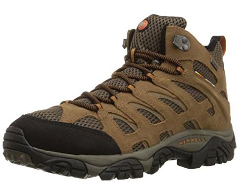 8. Merrell Men's Moab Mid Hiking Boot
