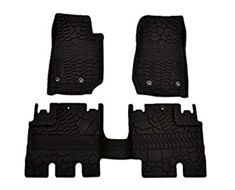 7. Mopar 82213860 (3-Piece Floor Mat Set)
