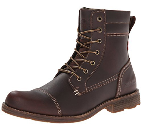 7. Levis Men's Lex II Lace-Up Boot