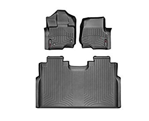5. Ford F-150-Weathertech Floor Liners (Black)
