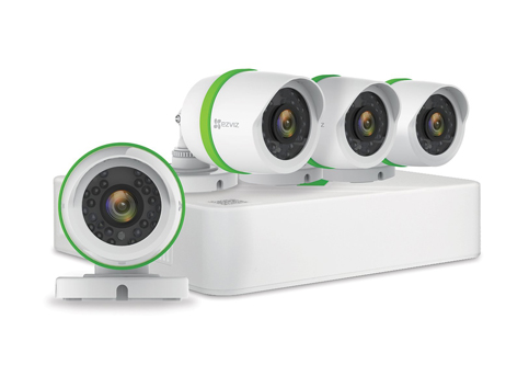 5. EZVIZ FULL HD 1080p Outdoor Surveillance System