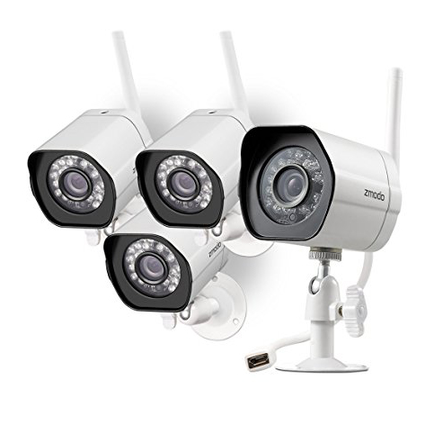 10. Zmodo Smart Wireless Security Camera System