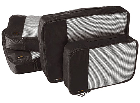 9. AmazonBasics Packing Cubes