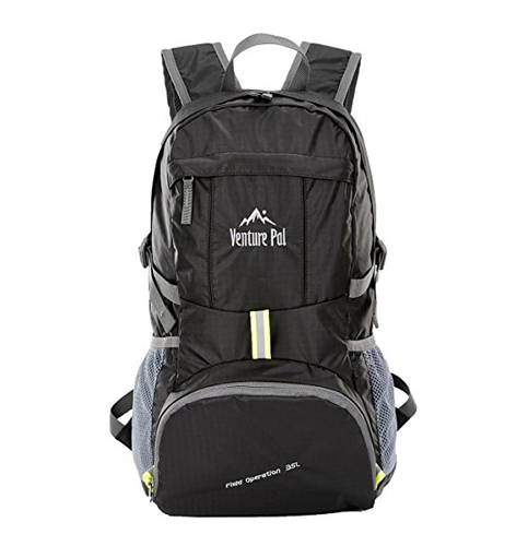 1. Venture Pal Hiking Backpack Daypack