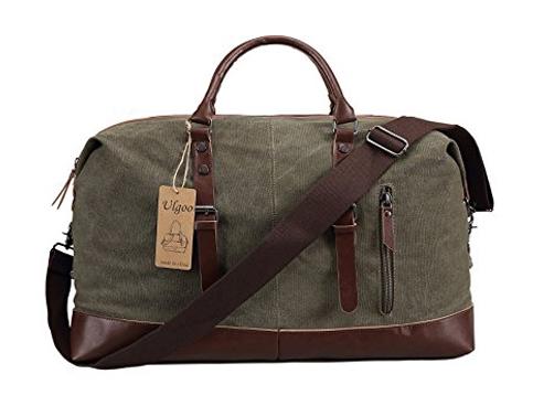 2. Ulgoo Travel Duffel Bag Canvas Bag