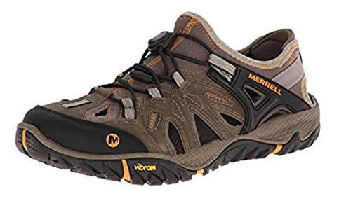 7. Merrell Men's All Out Blaze Sieve Water Shoe