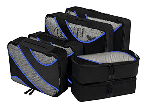 5. Bagail packing cubes (6 Set cubes)