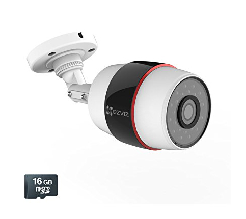 3. EZVIZ Husky Outdoor HD 1080p PoE & Wi-Fi Bullet Camera