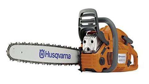 7. Husqvarna Gas-Powered Chain Saw (455 Rancher)
