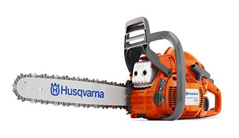 4. Husqvarna 450 Gas Powered Chain Saw