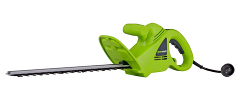 7. GreenWorks 22102-Corded Hedge Trimmer