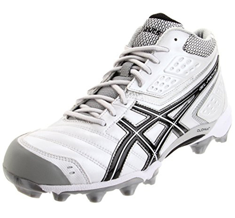 10. ASICS mid Lacrosse Cleat Shoe