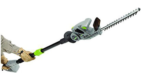 5. Earthwise CVPH41018 Handheld Hedge Trimmer