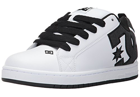 3. DC Men's Court Graffik SE Skate Shoe