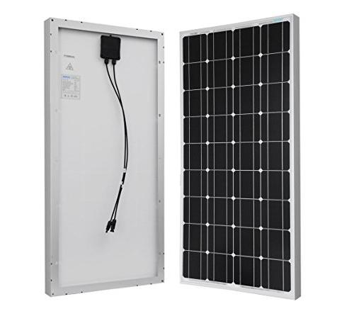 7. Renogy 12 Volts 100 Watts Mono-crystalline Solar Panel