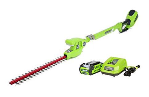 10. GreenWorks 22272 Hedge Trimmer