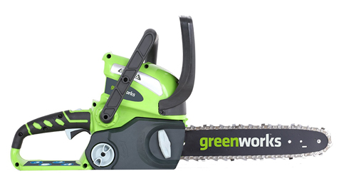 8. GreenWorks Cordless Chainsaw (20292 G-MAX)