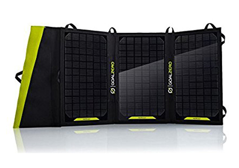 10. Goal Zero Nomad 20- Solar Panel
