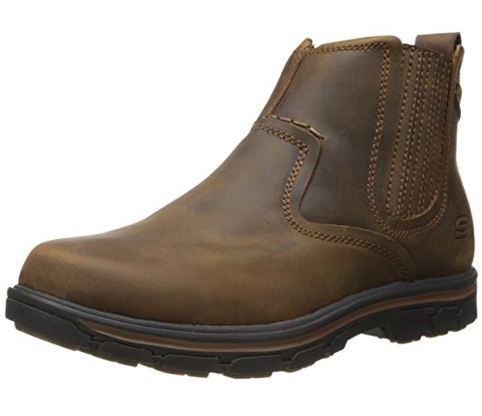 1. Skechers Men's Chelsea Boot (Segment-Dorton)