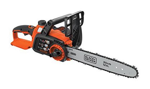 "2. BLACK+DECKER 12"" LCS1240 Chainsaw"