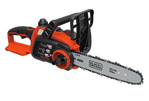 "10. BLACK+DECKER 10"" Chainsaw (LCS1020)"