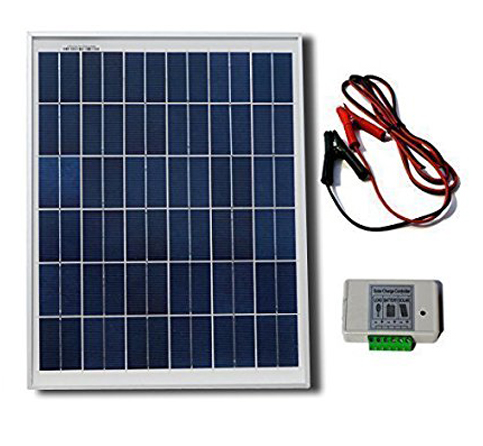 5. ECO-WORTHY, 20 Watt 12V Polycrystalline Solar Panel Kit
