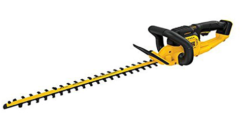 6. DEWALT DCHT820B 20 V Max Hedge Trimmer