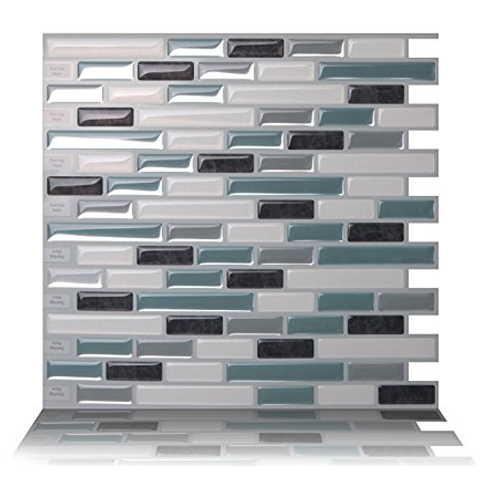 6. Tic Tac Tiles Anti-mold Stick Wall 10 Tiles