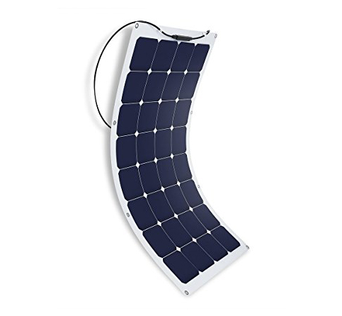 9. Suaoki 100W, ultra thin and Flexible Solar Panel