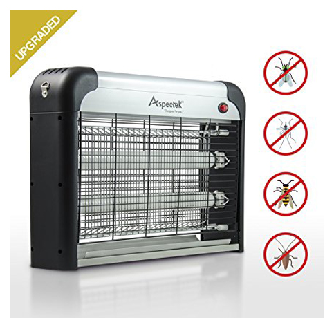 9. Aspectek 20W Electronic Bug Zapper