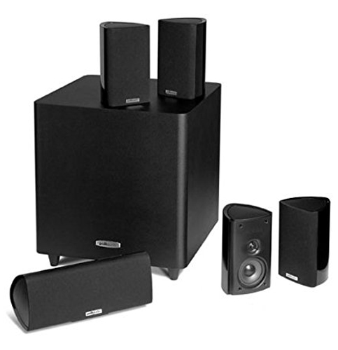 10. Polk Audio Set of Six Home Theater System (RM705)