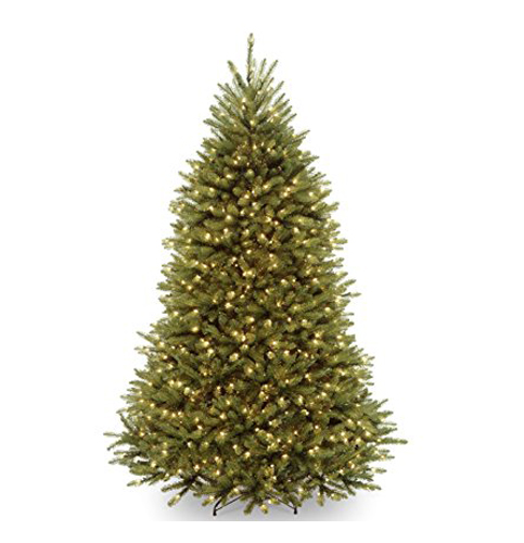 4. National Tree 7.5 Feet Dunhill Fir With 750 Clear Lights