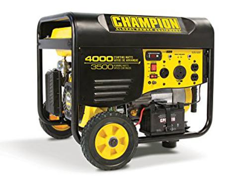 5. Champion Power Equipment 46539 3500-Watt generator