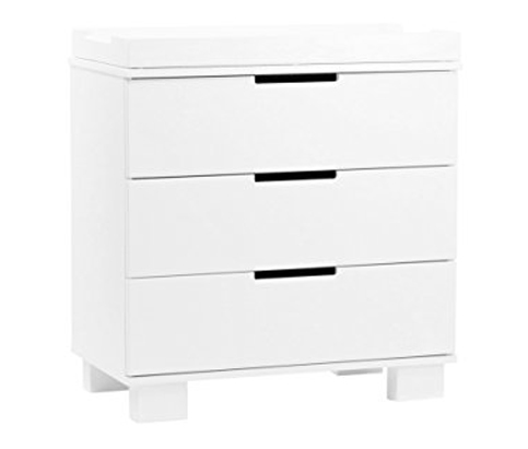 7. babyletto White 3-Drawer Changer (Modo)