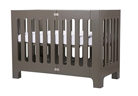 10. Bloom Alma Papa Convertible Crib in Frosted Grey