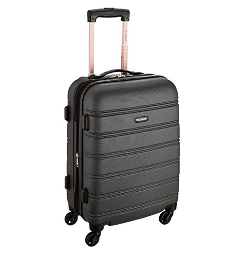 1. Rockland 20-Inch Carry On Luggage (Melbourne)