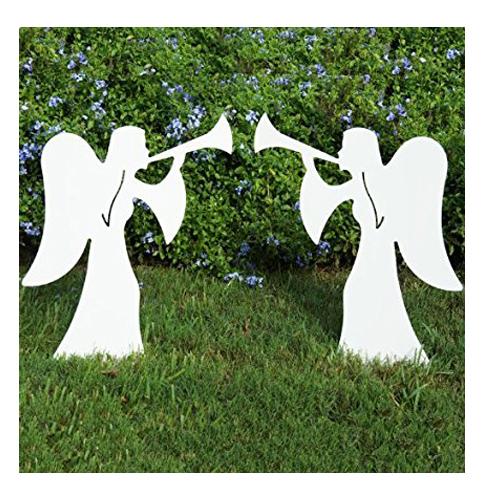4. Teak Isle Outdoor angel set
