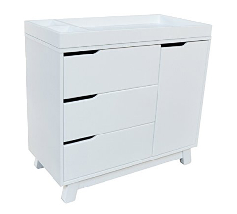 2. babyletto White Changing Dresser