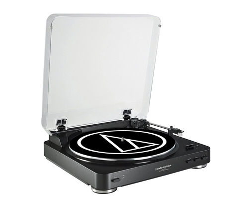 2. Audio-Technica Stereo Turntable (AT-LP60BK)
