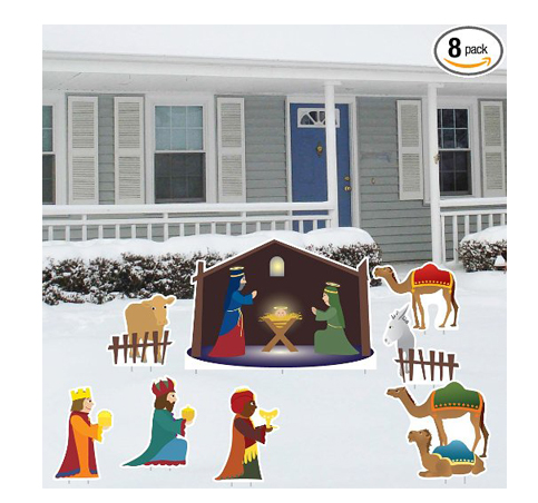 10. Nativity Scene - Christmas Yard Decoration Set