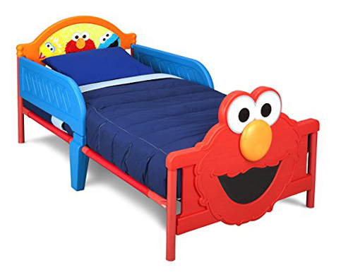 7. Delta Children 3D-Footboard Toddler Bed