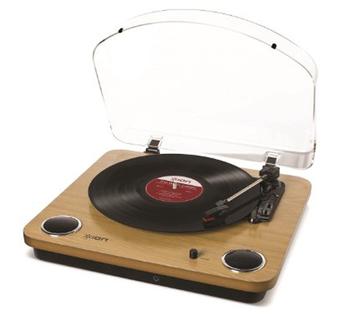 13. ION Audio Natural Wood Turntable
