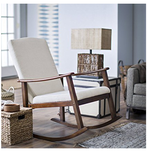 8. Belham Living Buttercream Rocking Chair