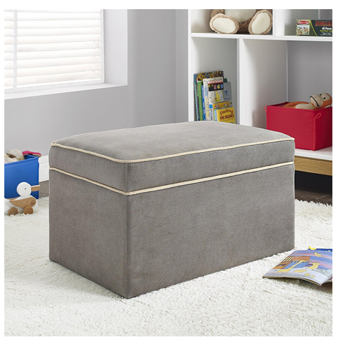 1. Baby Relax Dark Taupe Double Rocker
