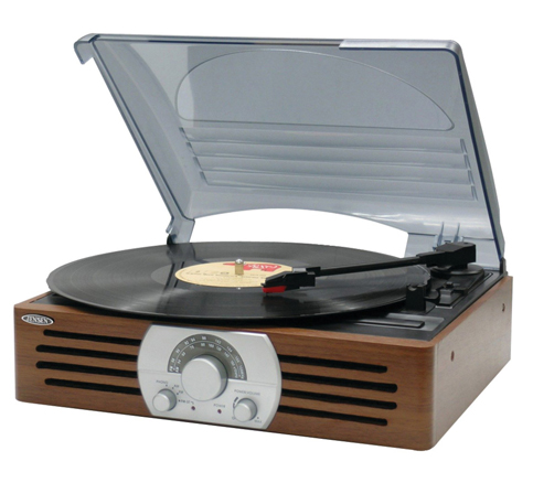14. Jensen 3-Speed Turntable (JTA-222)