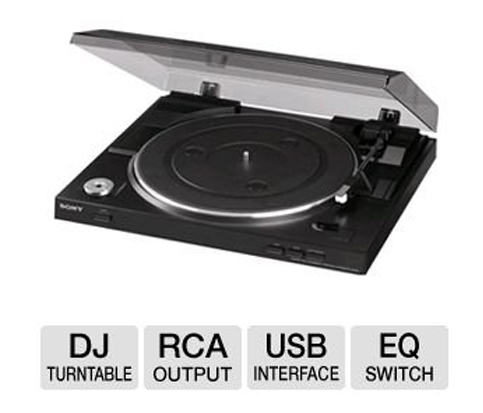 6. Sony Fully Automatic Stereo Turntable
